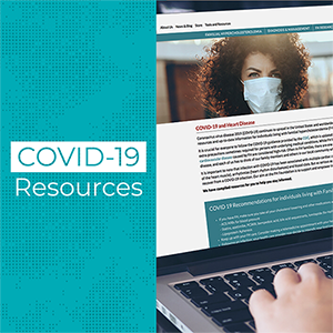 Information on COVID-19 and Heart Disease